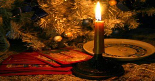 гадание на Рождество дома