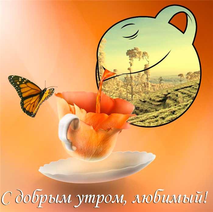 утренний чай для любимого