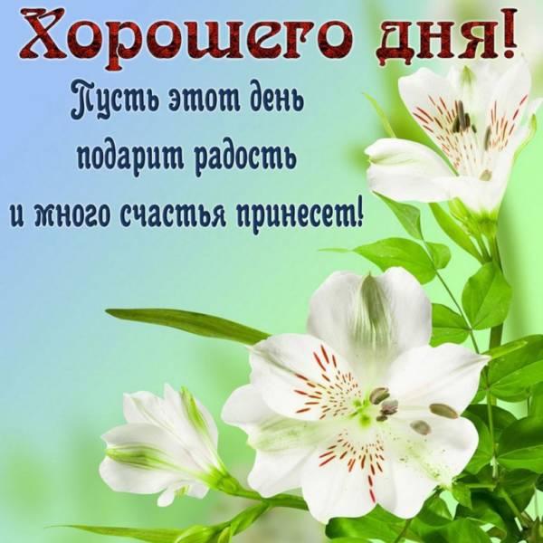 открытка хорошего дня и настроения