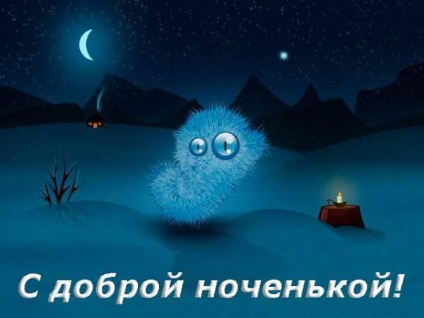 прикольная картинка спокойной ночи
