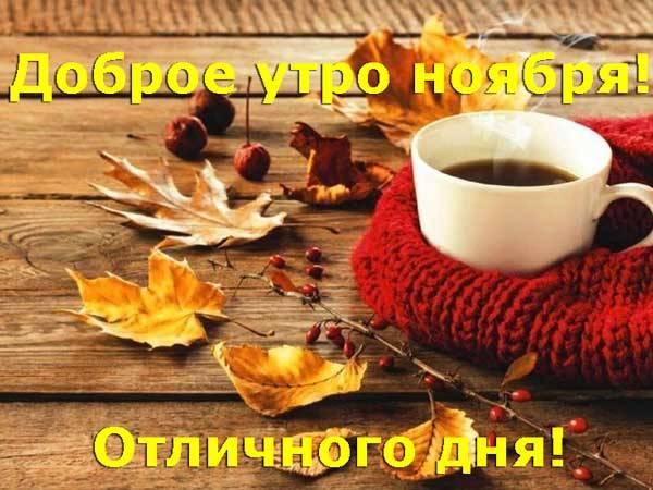 отличного дня ноября