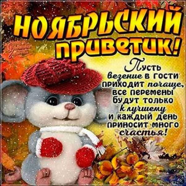 ноябрьский привет от мышки