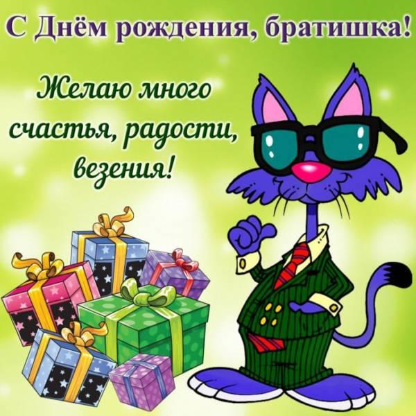 котенок с подарками