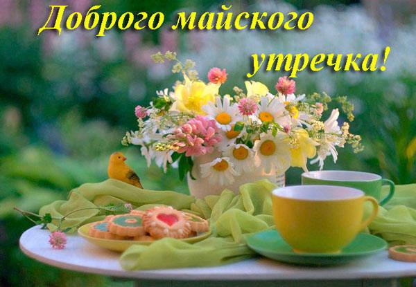 доброго утречка мая
