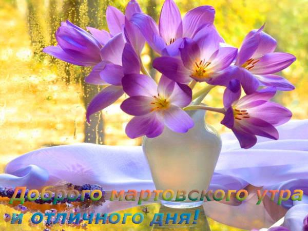 доброго мартовского утра и отличного дня